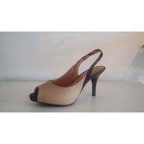 Sapato Scarpin Chanel Peep Toe 1185.100 C Pata 1 Cml Vizzano