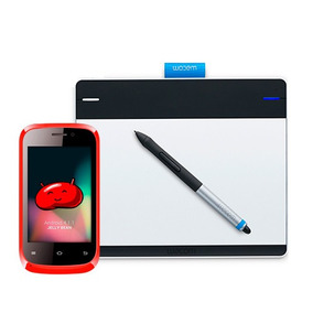 2x1 = Kit Incluy Intuos Mediana + Celular Solone Con Android