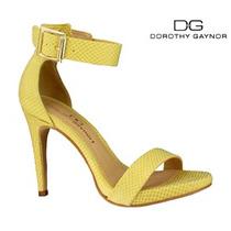 Zapato Dama Mujer Tacon Abierto Dorothy Gaynor