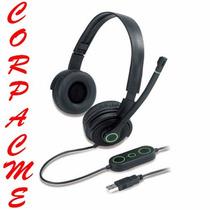 Audifono Genius Usb Plegable Microfo Y Vibración Hs-03u Acme