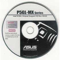 Cd Drivers Original Placa Mae Asus P5gl-mx