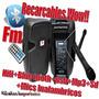 Bafle Recargable+bluetooth+micros Inalambricos+sd+usb+fm Wow
