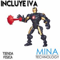 Figura De Accion Desarmable De Iron Man Marvel Hasbro A6825