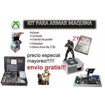 Kit Xbox 360 Maquinitas 2 Tb + Regalo