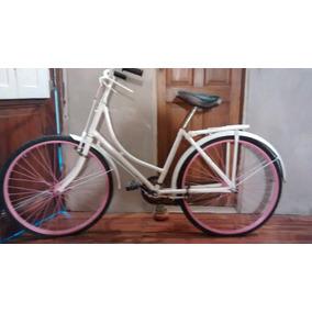 Bicicleta Modelo Inglesa Dama Antigua Rod26