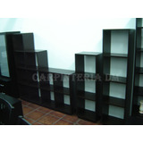 Biblioteca Cubo Varias Medidas / Carpinteria Dm