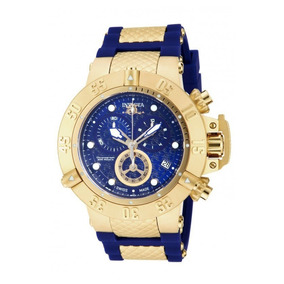 c90a613af97 Invicta Subaqua Noma Iii Swiss 18k Gold Plated Case 5515 - Relógios ...