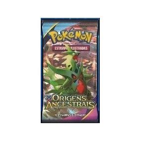 25 Códigos Booster Pokémon Tcg Online - Origens Ancestrais