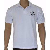 Camiseta Armani Emporio Exchange Polo - Melhor Em Qualidade