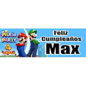 Manta Letrero De Cumpleaños Promocion Limitada