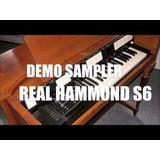 Hammond S6 Para Kontakt Organos Originales (los Masters)