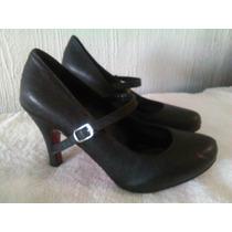 Zapatillas Con Mary Jane Num 26