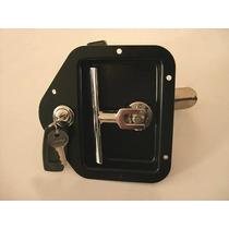 Chapa Negra Para Puerta De Camion Con Llave,paleta Ajustable