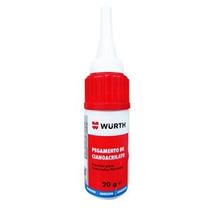 Pegamento De Cianocrilato Para Gomas Y Plásticos 20 Gr Wurth