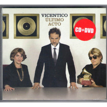 Vicentico Ultimo Acto Cd+dvd ( Ya Disponible A La Venta)