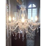Lámpara De Lagrimas Cristal Transparente 5 Luces Oferta!!