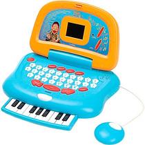 Laptop Musical Cocoricó C/ 28 Atividades - Candide
