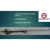 Antena De 40 Elementos Para Telefono Rural Telcel Router