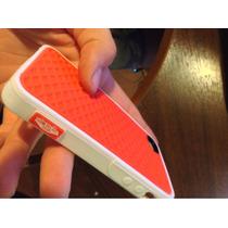 Protector Vans Waffle Iphone 5 5s Funda Case + Mica Regalo