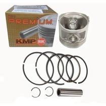 Kit Pistao Kmp Premium 2mm Aneis Rik Nx Xr 200 Cbx 200