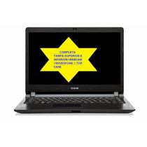 Carcaça Win Completa Notebook Cce Win U25 U45