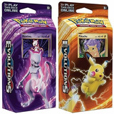 Cartas Pokemon Tcg Evolutions Deck/ Originales Xuruguay