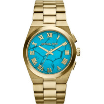Relógio Michael Kors Mk5894 Dourado Lançamento 2014 Completo