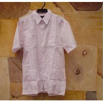 Camisa Guayabera Nueva En Tallas S M L Realizo