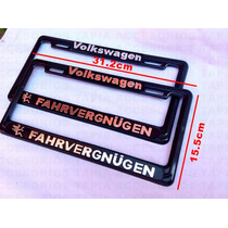 Porta Placa Para Carros Y Camionetas Volkswagen Fahrvergnuen