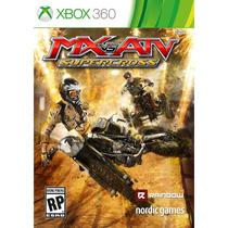 Jogo Novo Lacrado Mx Vs Atv Supercross Para Xbox 360