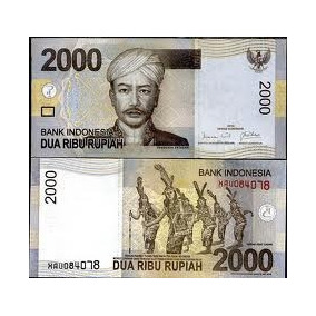Indonésia - 2.000 Rúpias De 2.009 - Fe. Frete 12,00
