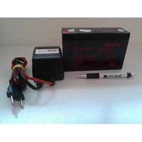 Kit 3 Bateria 6v 12ah + 3 Carregador Moto Elétrica Brinquedo
