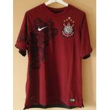 Camisa Corinthians Grená 2011 - G - Original - Não É Réplica