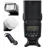Flash Profesional Ttl Gn85 Pantalla Lcd Para Nikon