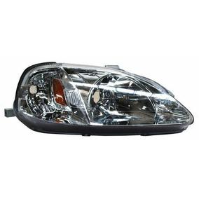 Par Faro Honda Civic 99-00