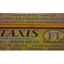 Alquilo Licencia De Taxi Sin Cargas Sociales 2009