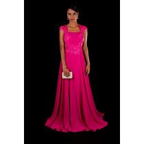 Vestido De Festa Pink/casamento/madrinha/formatura