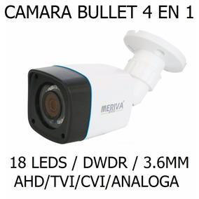 Camara Bullet Meriva 720p 960h Dwdr 18leds Cctv Seguridad