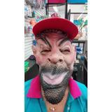 Mascara De Latex Con Gorra Para Carnaval O Halloween