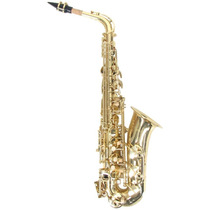 Frete Grátis - Harmony Sax Saxofone Alto Mib Laqueado