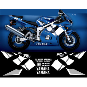 Stickers, Calcomanias Yamaha R6 2001-2002