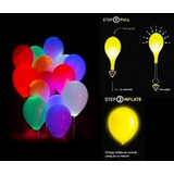 Globos Led De Colores Decoración Fiestas Infantiles Eventos