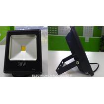 Reflector De Led 30 Watts Ultradelgado Ahorrador 3300 Lumens