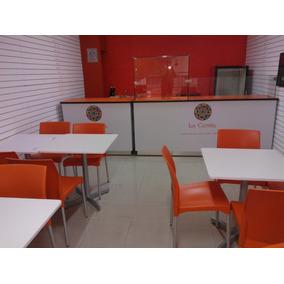 Barras M Mostradores Cafeteria, Mesas Restaurante Etc
