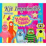 Kit Imprimible Yo Gabba Gabba Candy Bar Cumples Y Mas