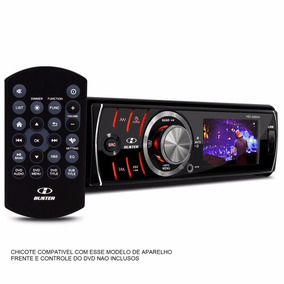 Chicote 16 Vias P/ Dvd Player H-buster Hbd 6680 Tela 2,7