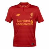 Camiseta Oficial Liverpool Local 2016/2017 New Balance +bono