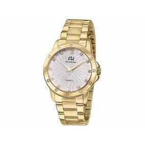 Relógio Ana Hickmann Feminino Dourado (ms) - Ah28937h