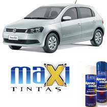 Tinta Spray Automotiva Prata Reflex Vw + Verniz 300ml
