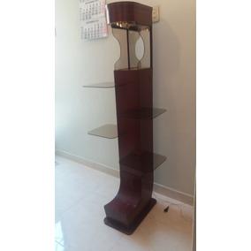 Estante-mueble De Madera Con Lunas Para Poner Adornos -usado